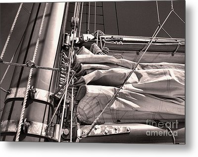 Metal Print featuring the photograph Ship Shape 1 by John S