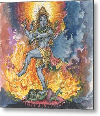 Shiva Nataraj Metal Print