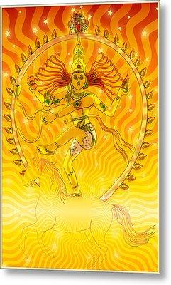 Shiva Nataraja Iv Metal Print