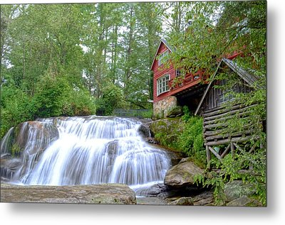 Shoal Creek Falls Metal Print by Bob Jackson