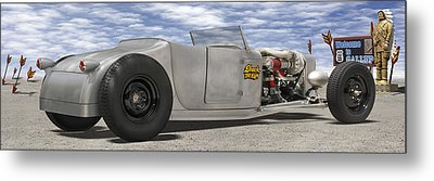 Shock Therapy At Gallap Metal Print by Mike McGlothlen