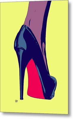 Shoe Metal Print by Giuseppe Cristiano