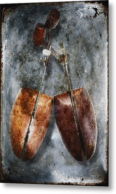 Shoe Trees Metal Print by Skip Nall