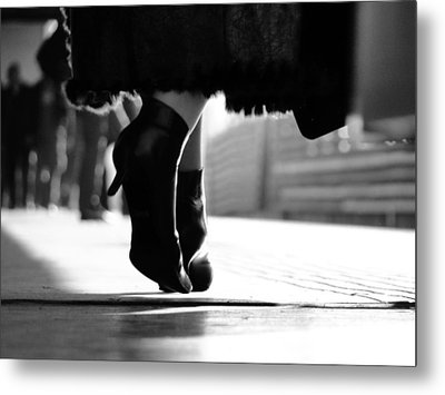 Shoes Metal Print