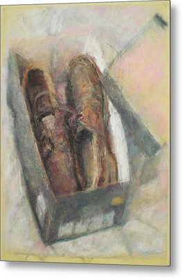 Shoes Metal Print by Paez  Antonio