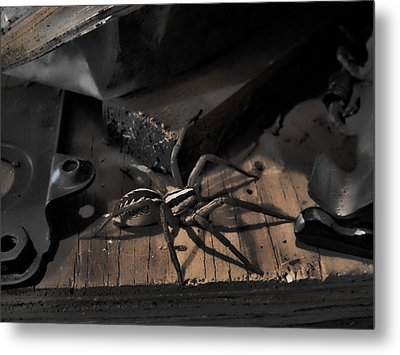 Metal Print featuring the digital art Tombstone Shadows by Robert Rhoads