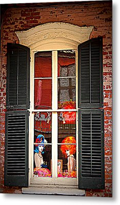 Shop Window Metal Print by Beth Vincent