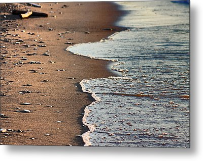 Shore Metal Print by Bruce Patrick Smith
