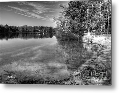 Shore Of Serenity Metal Print by Michelle Wiarda
