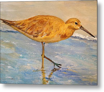 Metal Print featuring the painting Shore Patrol I by Alan Lakin