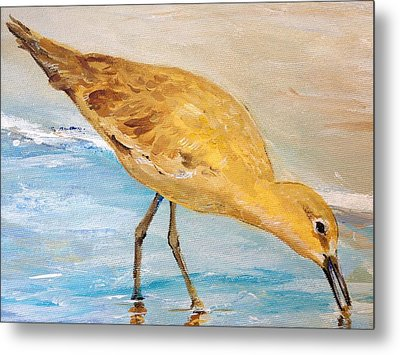 Metal Print featuring the painting Shore Patrol II by Alan Lakin
