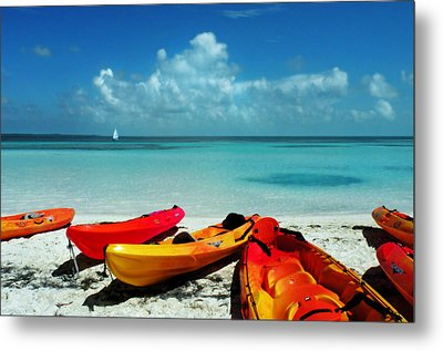 Shore Rest Metal Print