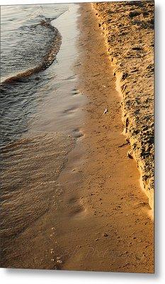 Shoreline Metal Print by BandC  Photography