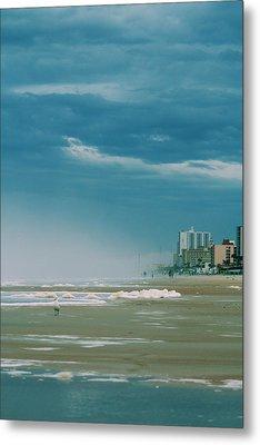 Shoreline Daytona Metal Print by Paulette Maffucci
