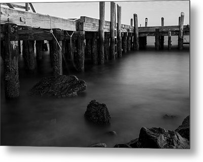 Shores Of Jamestown Metal Print by Andrew Pacheco