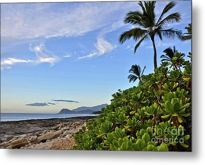 Metal Print featuring the photograph Shores Of Paradise by Gina Savage