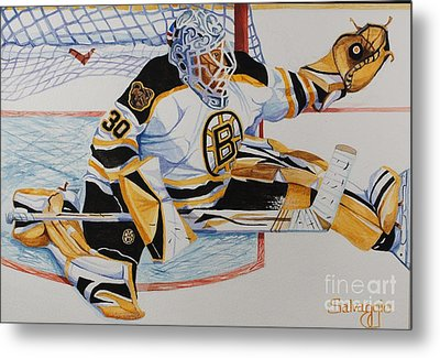 Short Side Save Metal Print by Alan Salvaggio