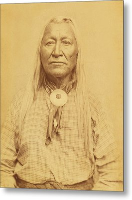 Shoshone Chief Washakie Metal Print by Paul Ashby Antique Image