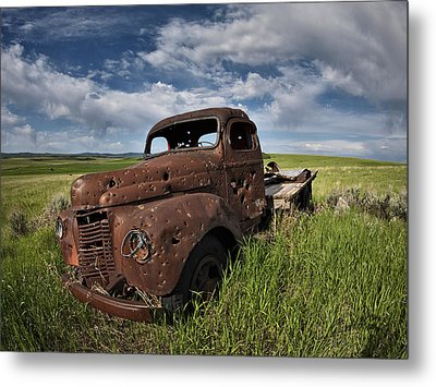 Shot Up Metal Print by Leland D Howard