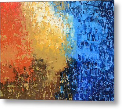 Metal Print featuring the painting Show Me Your Glory by Linda Bailey