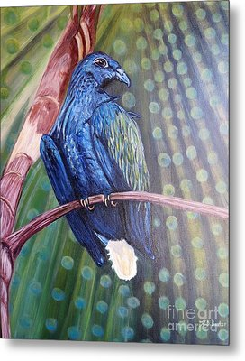 Showered With The Light Of His Creation Metal Print