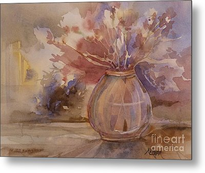 Shrivelled Metal Print by Donna Acheson-Juillet