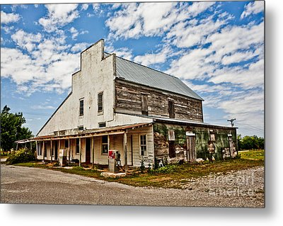 Shriver's General Store Metal Print by Pattie Calfy