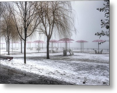 Shrouded Metal Print by Nicky Jameson