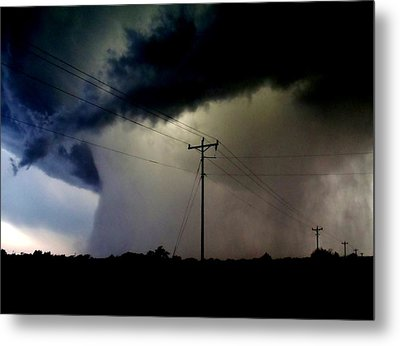 Metal Print featuring the photograph Shrouded Tornado by Ed Sweeney