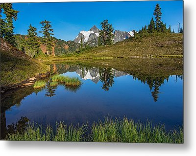 Shuksan Reflection Metal Print