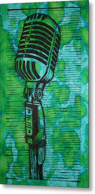 Shure 55s Metal Print by William Cauthern