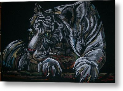 Siberian Tiger Metal Print by Peter Suhocke
