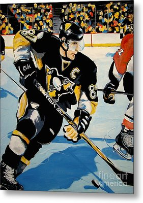 Sid The Kid Metal Print by Philip Kram