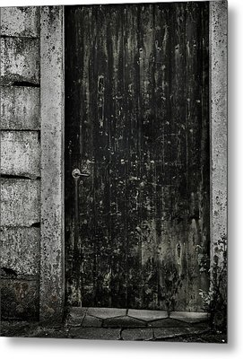 Side Street Metal Print by Odd Jeppesen