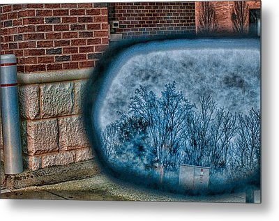 Sideview Mirror Metal Print by J Riley Johnson