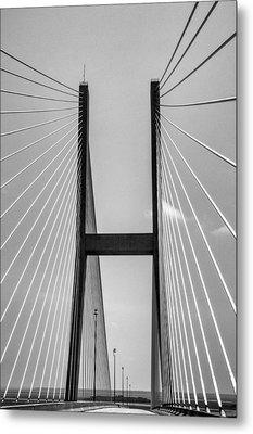 Sidney Lanier Bridge Metal Print by Ginger Wakem