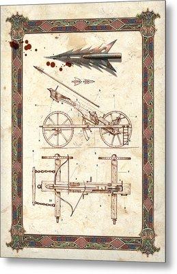 Siege Crossbow Metal Print by Garry Walton