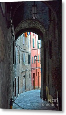 Siena Italy Metal Print by Amy Fearn