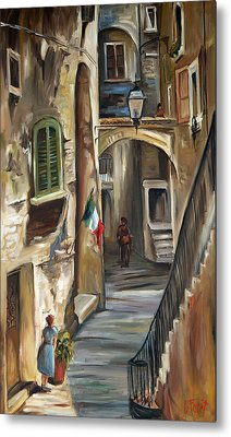 Siena Italy Metal Print by Carole Foret