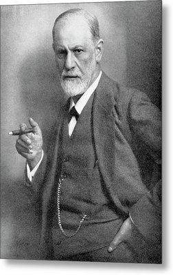 Sigmund Freud Metal Print by Universal History Archive/uig