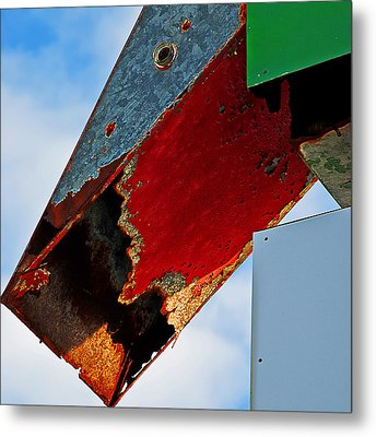Sign Of The Times Metal Print by Rick Mosher