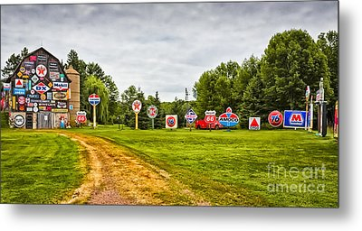 Metal Print featuring the photograph Signage Barn by Ricky L Jones