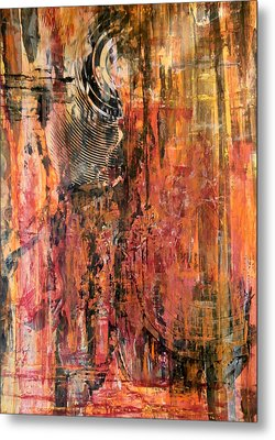 Metal Print featuring the painting Signal Son by Buck Buchheister