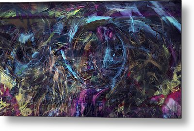 Signal To Noise Metal Print by Linda Sannuti