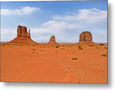 Signatures Of Monument Valley Metal Print by Christine Till