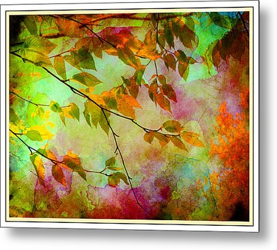 Signs Of Autumn Metal Print by Nina Bradica