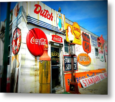 Metal Print featuring the photograph Signs Of Our Times  by Kathy Barney