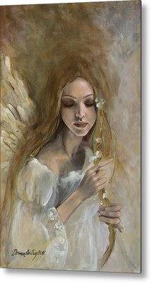 Silence Metal Print by Dorina  Costras