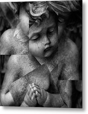 Silence Of A Seraphim  Metal Print by Empty Wall
