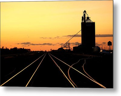 Silence On The Prairie Metal Print by Larry Trupp